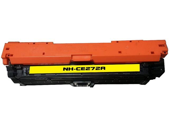 Rosewill RTCS-CE272A Yellow Toner Cartridge Replace HP CE272A, 650A Yellow
