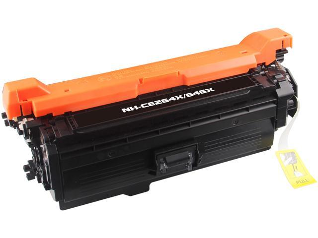 Rosewill RTCS-CE264X Black Toner Cartridge Replace HP CE264X, 646X Black