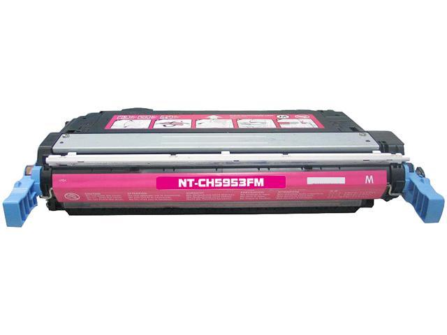 Rosewill RTCS-Q5953A Magenta Toner Cartridge Replace HP Q5953A, 643A Magenta