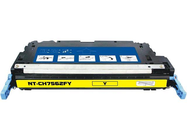 Rosewill RTCS-Q7562A Yellow Toner Cartridge Replace HP Q7562A, 314A Yellow