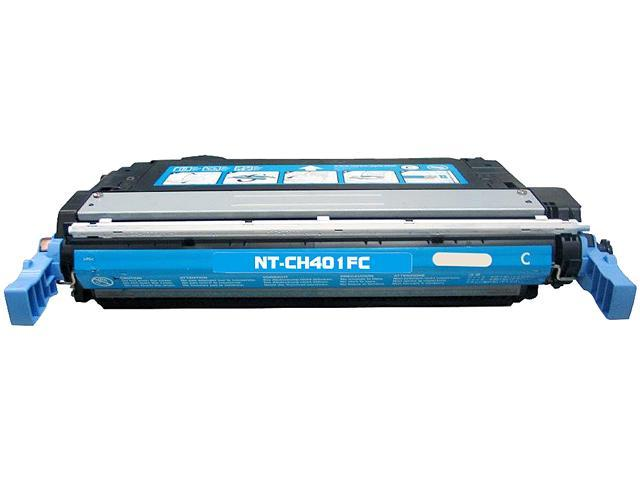 Rosewill RTCS-CB401A Cyan Toner Cartridge Replace HP CB401A, 642A Cyan