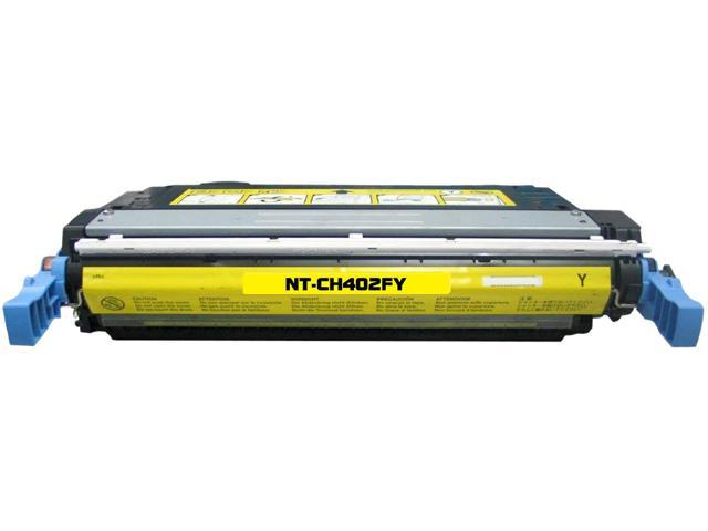 Rosewill RTCS-CB402A Yellow Toner Cartridge Replace HP CB402A, 642A Yellow