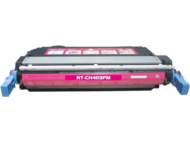 Rosewill RTCS-CB403A Magenta Toner Cartridge Replace HP CB403A, 642A Magenta