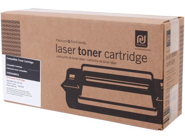 Print-Rite TFB206BRUJ Black Toner Cartridge Replacement for Brother TN350