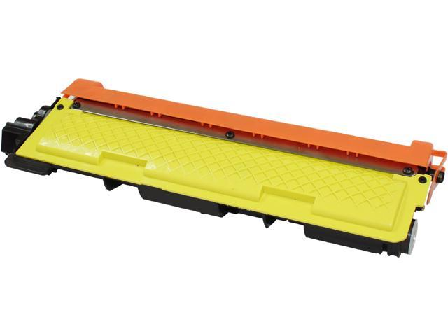 Print-Rite TFB237YRUJ Yellow Toner Cartridge Replacement for Brother TN210Y