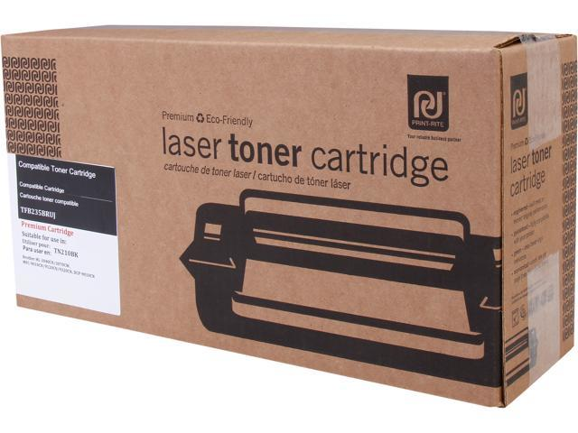 Print-Rite TFB235BRUJ Black Toner Cartridge Replacement for Brother TN210BK