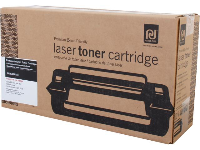 Print-Rite TRH541BRUJ Black Toner Cartridge Replacement for HP CE255A