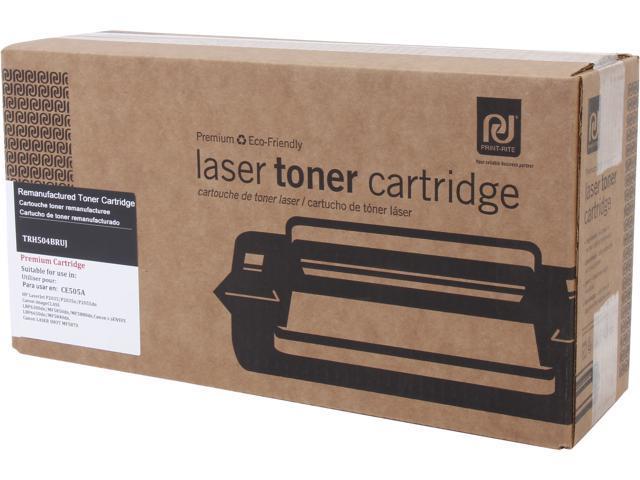 Print-Rite TRH504BRUJ Black Toner Replaces HP 05A CE505A