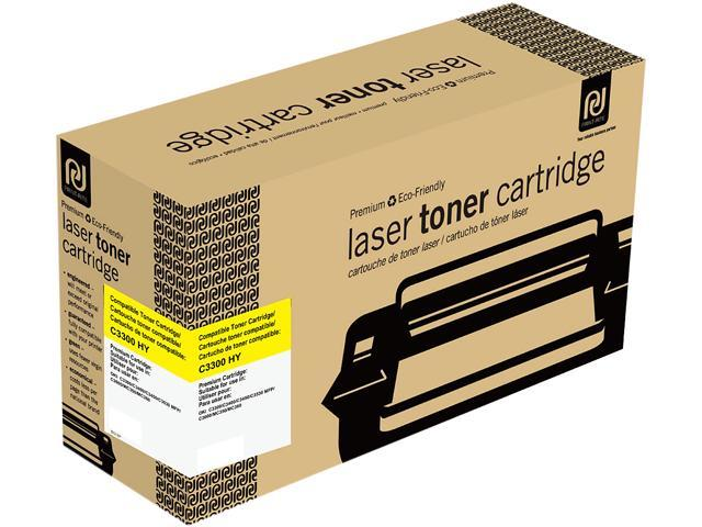 Print-Rite TFO135YRUJ Yellow Toner Cartridge Replacement for Okidata 43459301