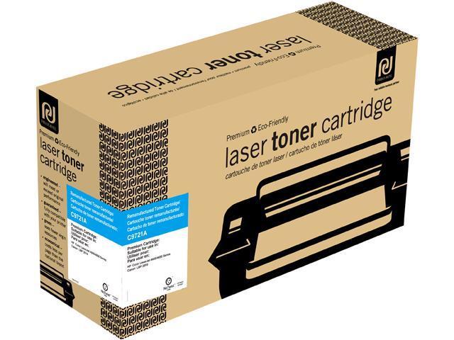 Print-Rite TRH179CRUJ Cyan Toner Cartridge Replacment for HP C9721A