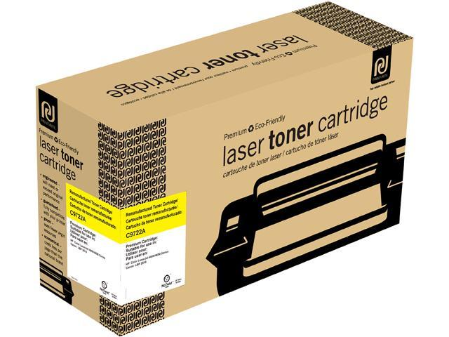 Print-Rite TRH180YRUJ Yellow Toner Cartridge Replacment for HP C9722A