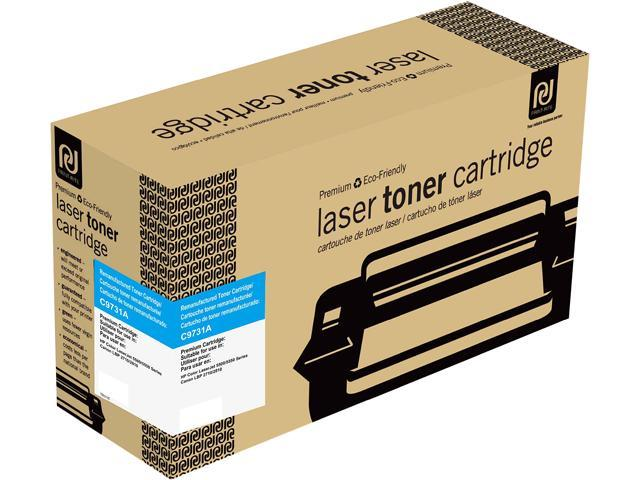 Print-Rite TRH215CRUJ Cyan Toner Cartridge Replacment for HP C9731A