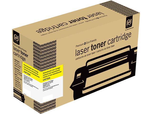 Print-Rite TRH216YRUJ Yellow Toner Cartridge Replacment for HP C9732A