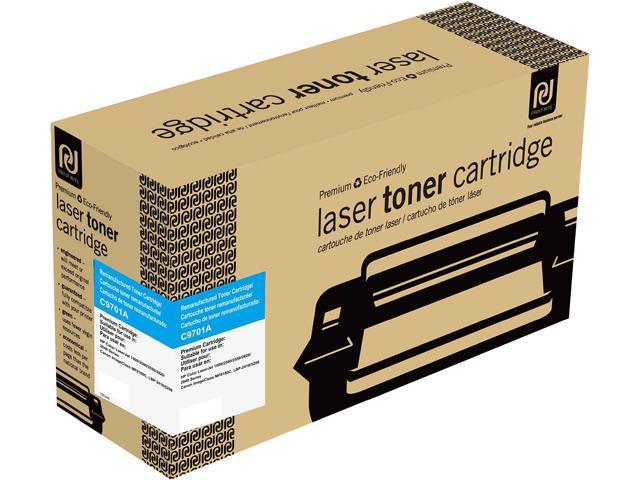 Print-Rite TRH240CRUJ Cyan Toner Cartridge Replacment for HP C9701A