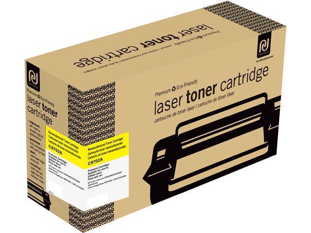 Print-Rite TRH241YRUJ Yellow Toner Cartridge Replacment for HP C9702A
