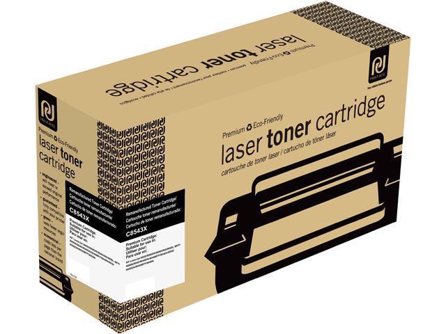 Print-Rite TRH272BRUJ Black Toner Cartridge Replacment for HP C8543X