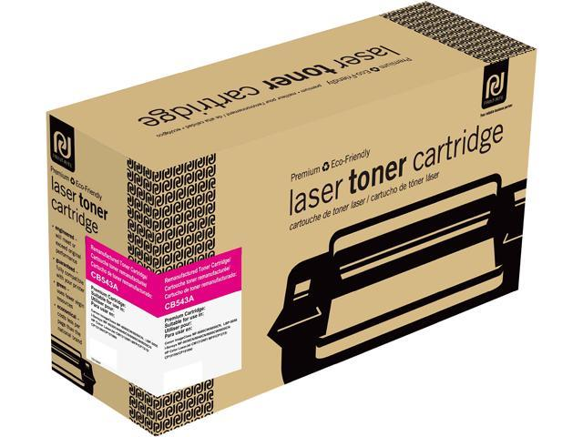 Print-Rite TRH366MRUJ Magenta Toner Cartridge Replacment for HP CB543A