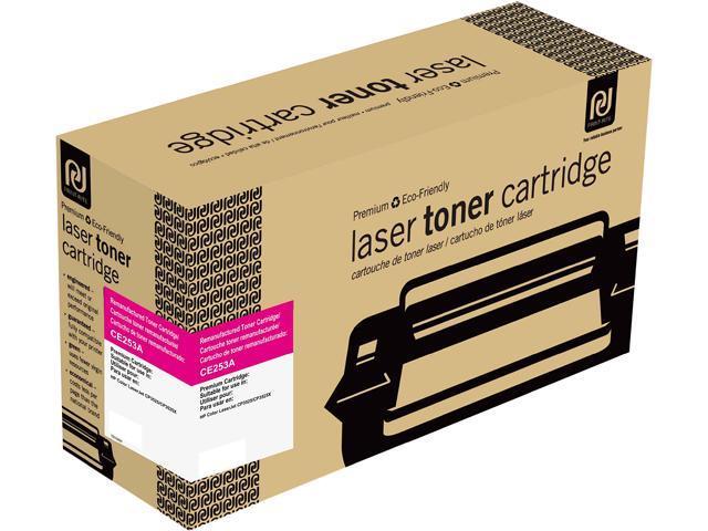 Print-Rite TRH399MRUJ Magenta Toner Cartridge Replacment for HP CE253A