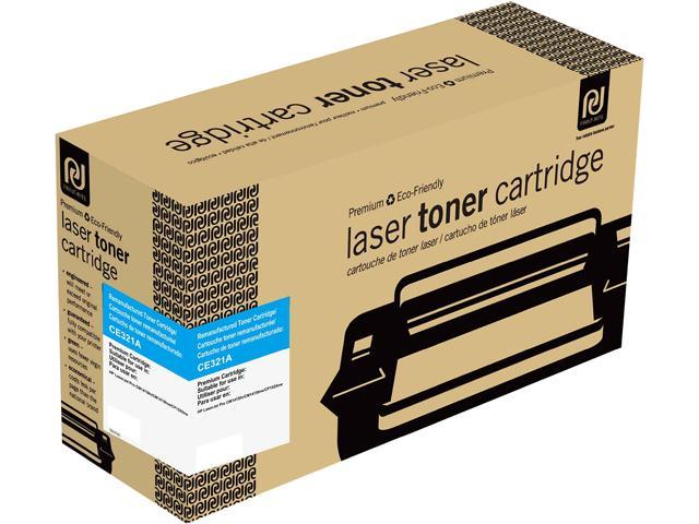 Print-Rite TRH770CRUJ Cyan Toner Cartridge Replacment for HP CE321A