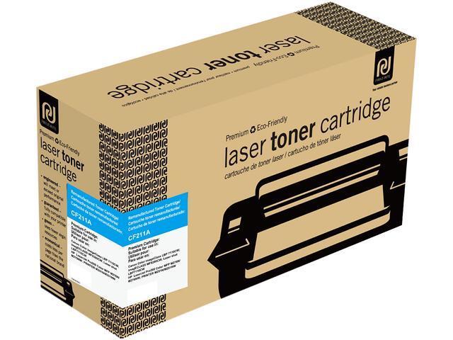 Print-Rite TRHE56CRUJ Cyan Toner Cartridge Replacment for HP CF211A