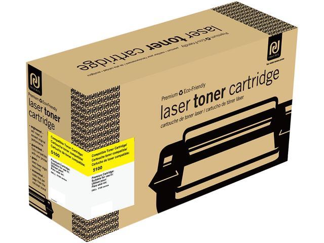 Print-Rite TFD069YRUJ  Yellow Toner Cartridge Replacement for Dell 310-5808