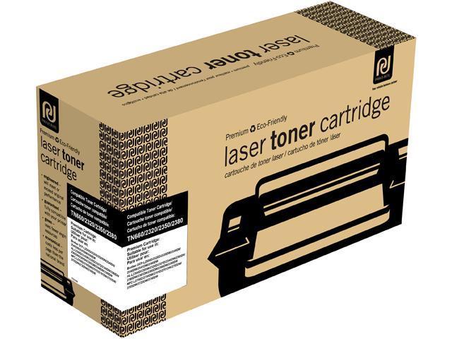 Print-Rite TFB340BRUJ Black Toner Cartridge Replacement for Brother TN660