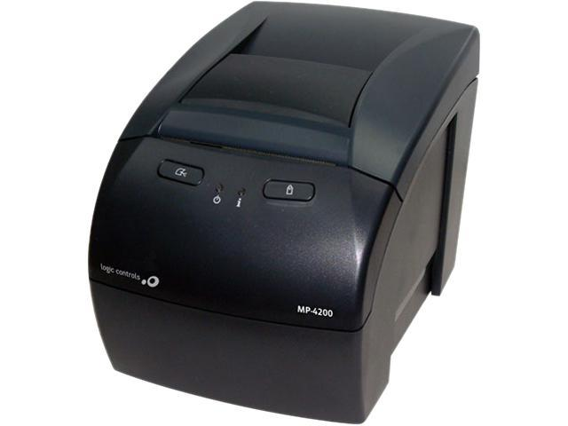 Logic Controls MP-4200U Receitp Printer With USB Interface (USB Cable Included)