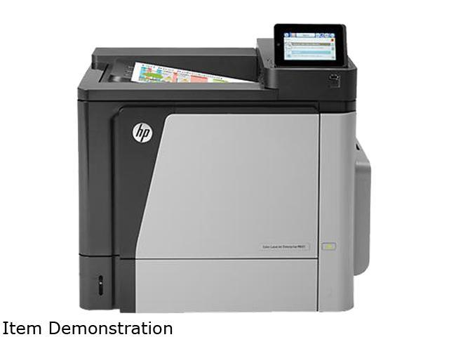 HP LaserJet M651dn Up to 45 ppm 1200 x 1200 dpi Color Print Quality Printer