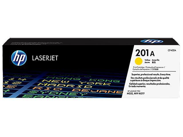 HP 201A (CF402A) Toner Cartridge 1,400 Page Yield; Yellow