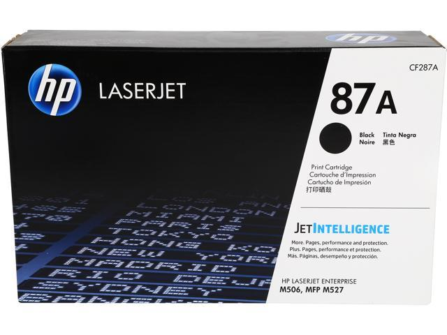 HP 87A (CF287A) Toner Cartridge 9000 Pages Yield; Black