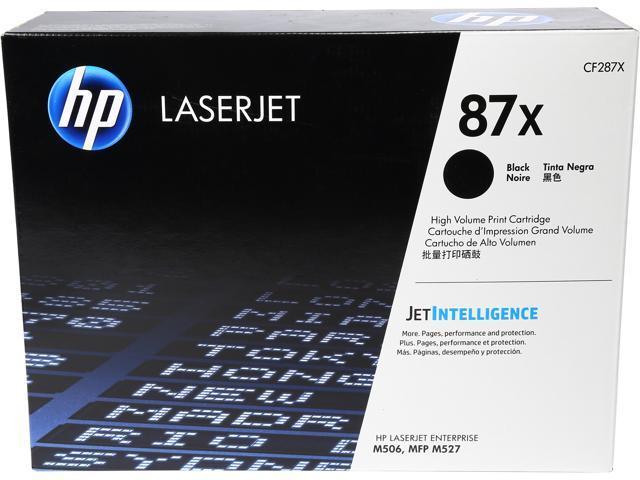 HP 87X (CF287X) Toner Cartridge 18,000 Pages Yield; Black