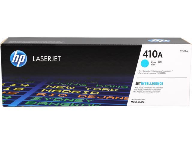 HP HP 410A (CF411A) Toner Cartridge 2,300 Page Yield; Cyan