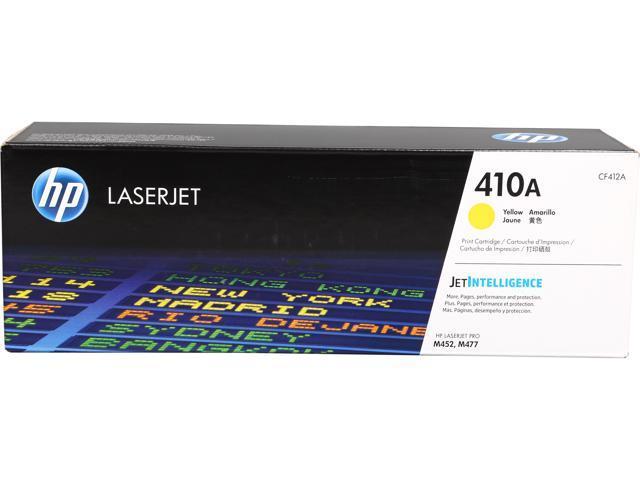 HP HP 410A (CF412A) Toner Cartridge 2,300 Page Yield; Yellow