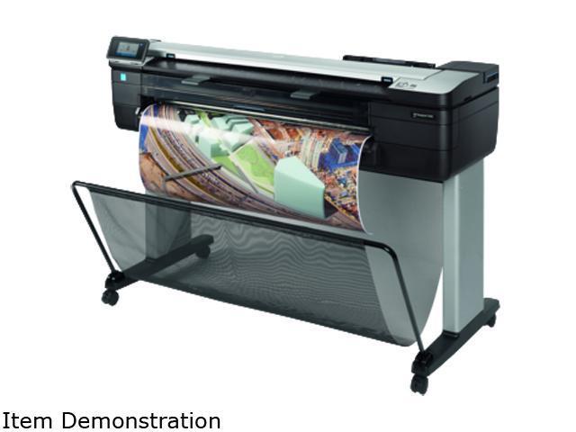 HP Designjet T830 (F9A30A) 2400 x 1200 dpi Wireless / USB Color Inkjet MFP Printer