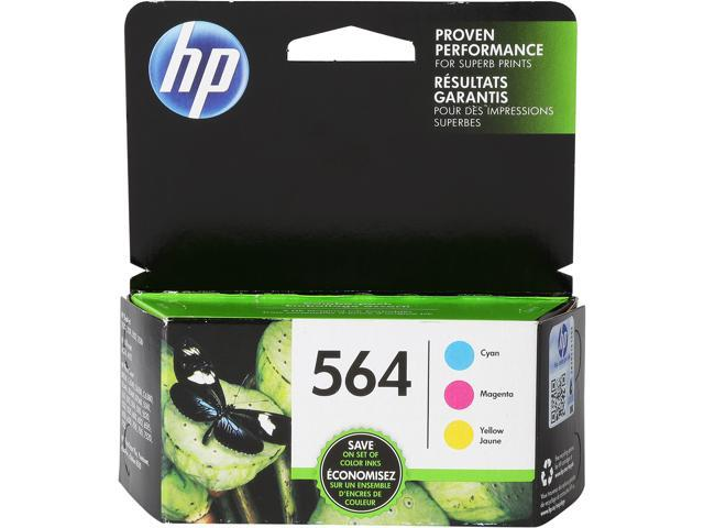 HP 564 (N9H57FN#140) Ink Cartridge 900 page Yield; Cyan/Magenta/Yellow