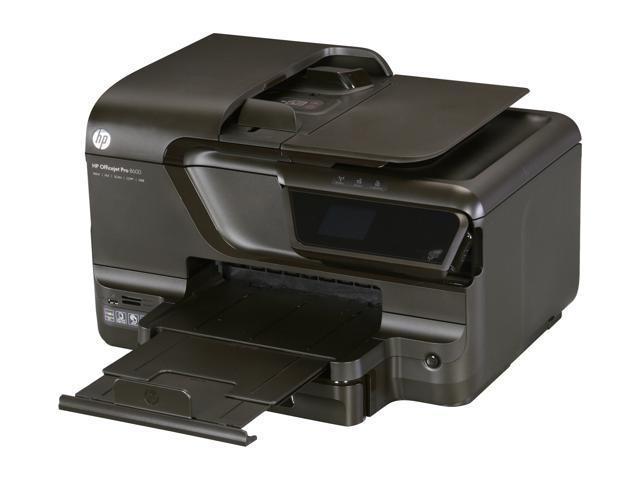 HP Officejet Pro 8600 Up to 18 ppm Black Print Speed 4800 x 1200 dpi Color Print Quality Thermal Inkjet e-All-in-One Color Printer