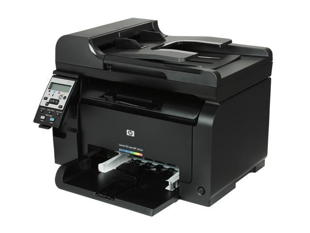 HP LaserJet Pro 100 M175nw MFP Up to 17 ppm Up to 600 x 600 dpi Color Print Quality Color Wireless 802.11b/g/n Laser Printer