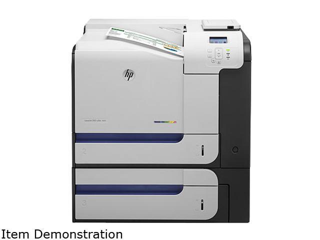 HP LaserJet Enterprise 500 Color M551xh Workgroup Up to 33 ppm 1200 x 1200 dpi Color Print Quality Color Laser Printer