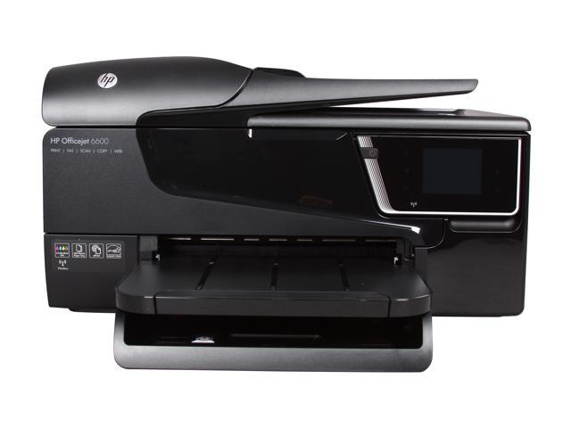 HP Officejet 6600 Up to 32 ppm Black Print Speed 4800 x 1200 dpi Color Print Quality Wireless Thermal Inkjet MFC / All-In-One Color Printer