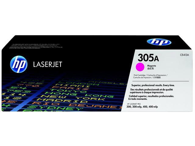 HP 305A Magenta LaserJet Toner Cartridge (CE413A)