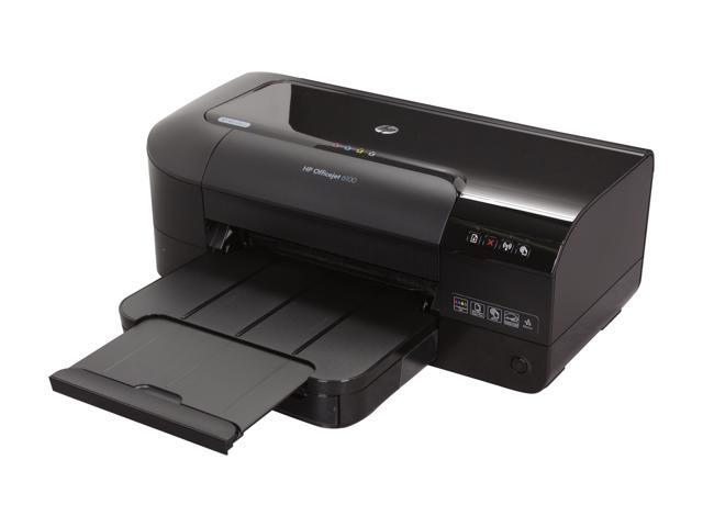 HP Officejet Officejet 6100 WiFi 802.11b/g Thermal Inkjet Workgroup Color Printer with ePrint Capability