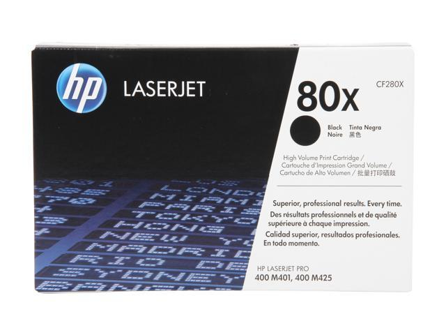 HP 80X High Yield LaserJet Toner Cartridge - Black