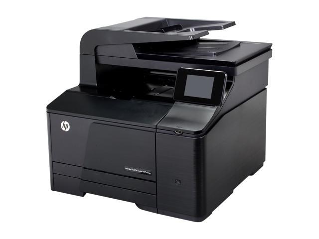 HP LaserJet Pro 200 color MFP M276nw MFP Up to 14 ppm 600 x 600 dpi Color Print Quality Color Wireless 802.11b/g/n Laser Printer