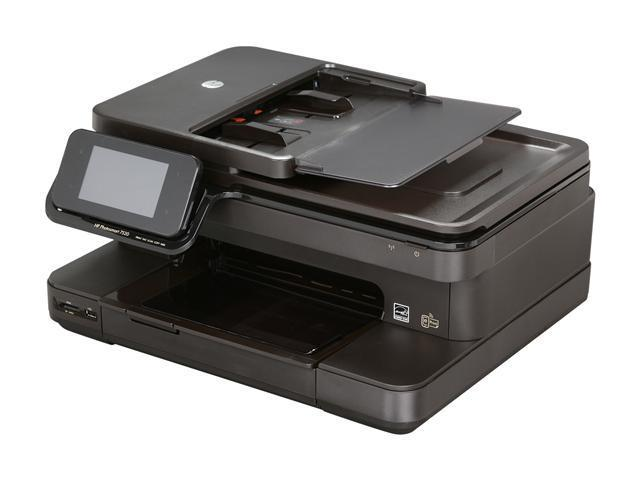 HP Photosmart 7520 Up to 34 ppm Black Print Speed 9600 x 2400 dpi Color Print Quality Wireless InkJet MFC / All-In-One Color Printer