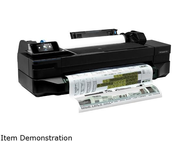 "HP Designjet T120 24"" (CQ891A) 1200 dpi x 1200 dpi Wireless / USB Color Inkjet Printer"