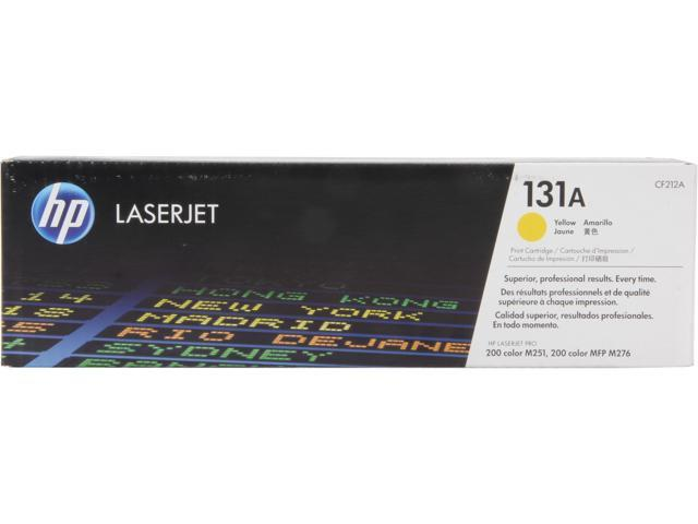 HP 131A LaserJet Toner Cartridge (CF212A); Yellow