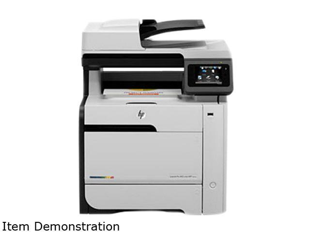 HP LaserJet Pro 400 M475dn MFC / All-In-One Up to 21 ppm 600 x 600 dpi Color Print Quality Color Laser Printer