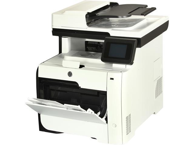 HP LaserJet Pro 400 color MFP M475dw MFC / All-In-One Up to 21 ppm 600 x 600 dpi Color Print Quality Color Wireless 802.11b/g/n Laser Printer