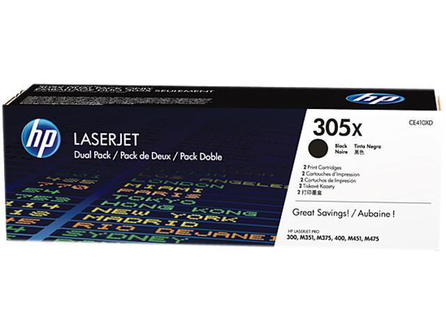 HP CE410XD LaserJet Toner Cartridge Black