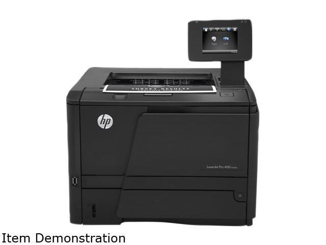 HP LaserJet Pro 400 M401dw Workgroup Up to 35 ppm Monochrome Wireless 802.11b/g/n Laser Laser Printers
